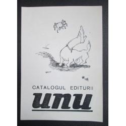 Catalogul Editurii UNU...