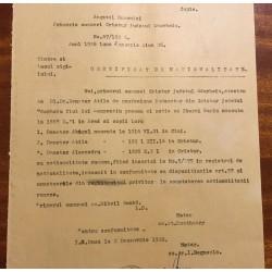 Certificat de naţionalitate...