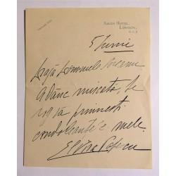 Scrisoare ELVIRA POPESCU...