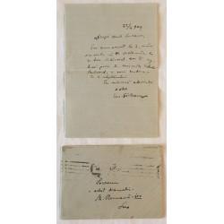 Lot 4 scrisori EMIL...