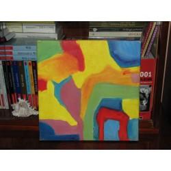 Pictură abstractă în ulei...